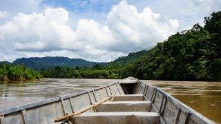 Barque allant vers Juanjui