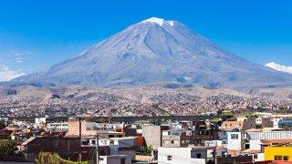 Les volcans au Pérou