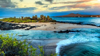 Ile de sable fin galapagos