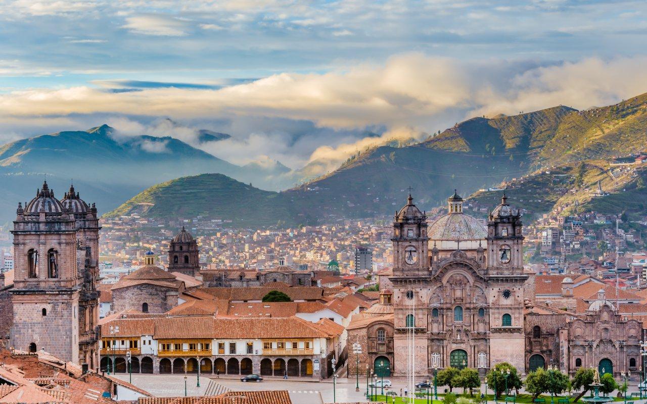 Ville de Cusco au Pérou