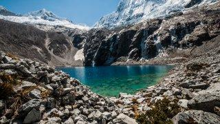 Lagune Huaraz au Pérou