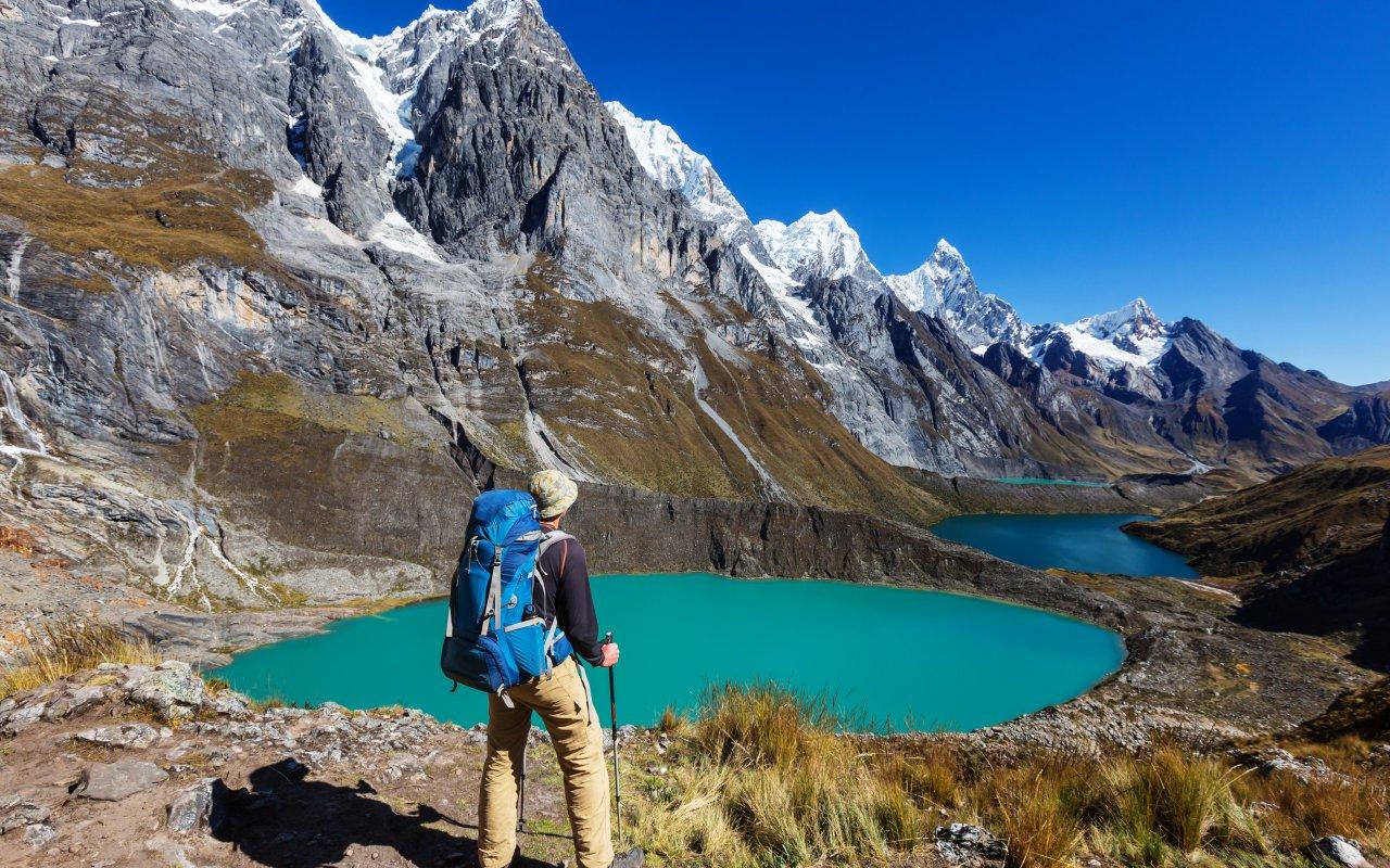 Trek au Pérou dans la cordillère des Andes