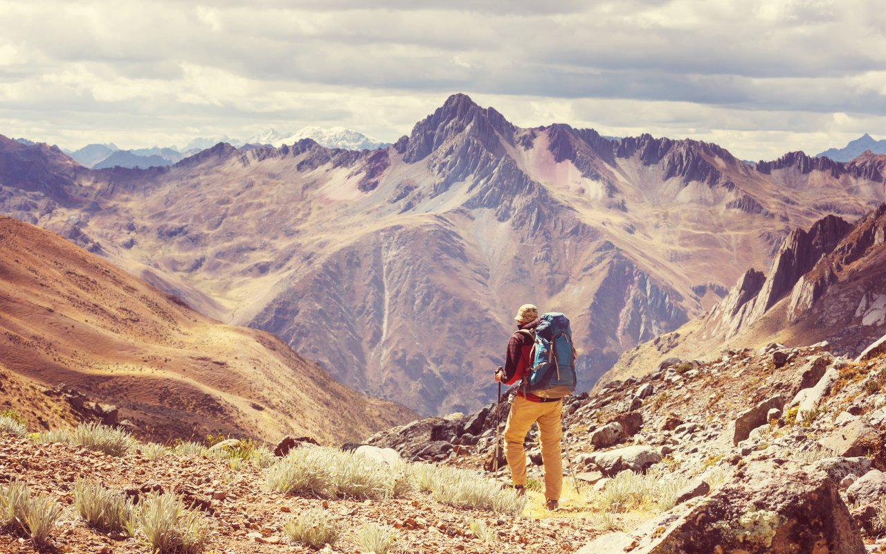 Montagne au nord du Pérou