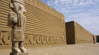 Ruine Chan chan au Pérou