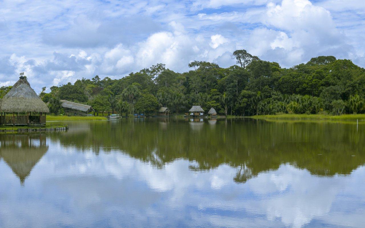 Lac de Huanoco en Amazonie