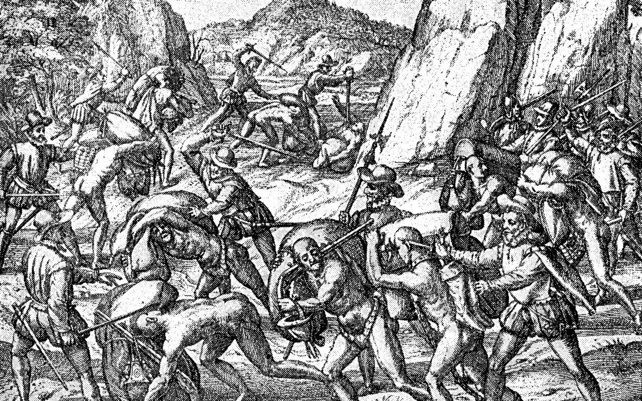 Conquête de l'empire Inca par Francisco Pizarro