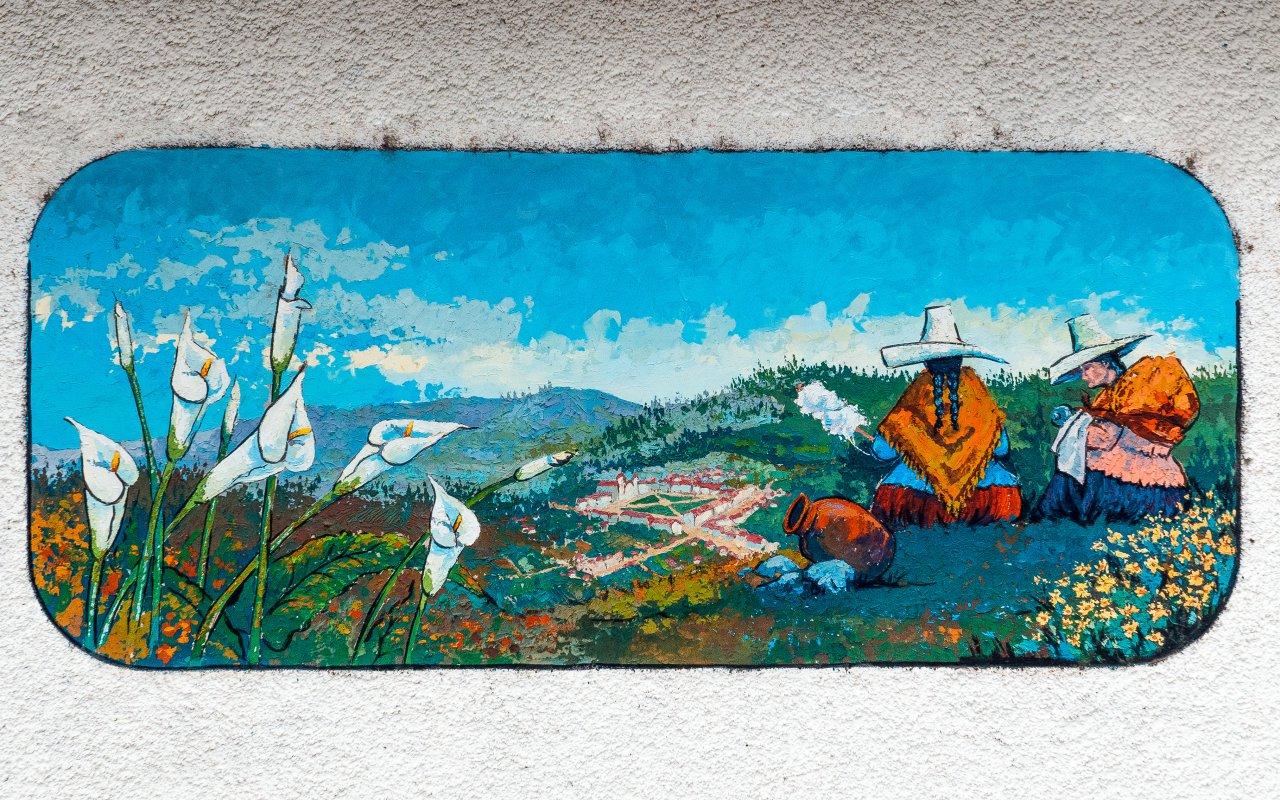 Peinture Quechua