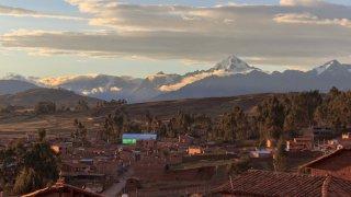 Village de Chinchero au Pérou