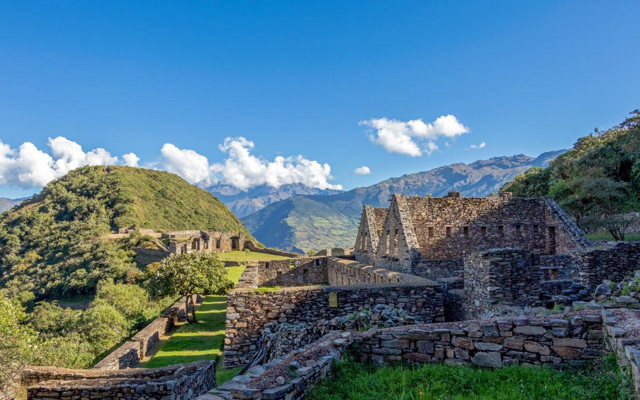 Site archéologiques de Choquequirao au Pérou