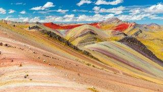 Montagne 7 couleurs Pérou