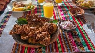 Mangez du cochon d'inde au Pérou !