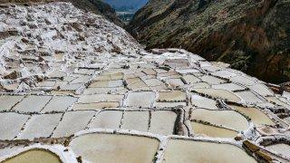 Salines de Maras dans la région de Cusco