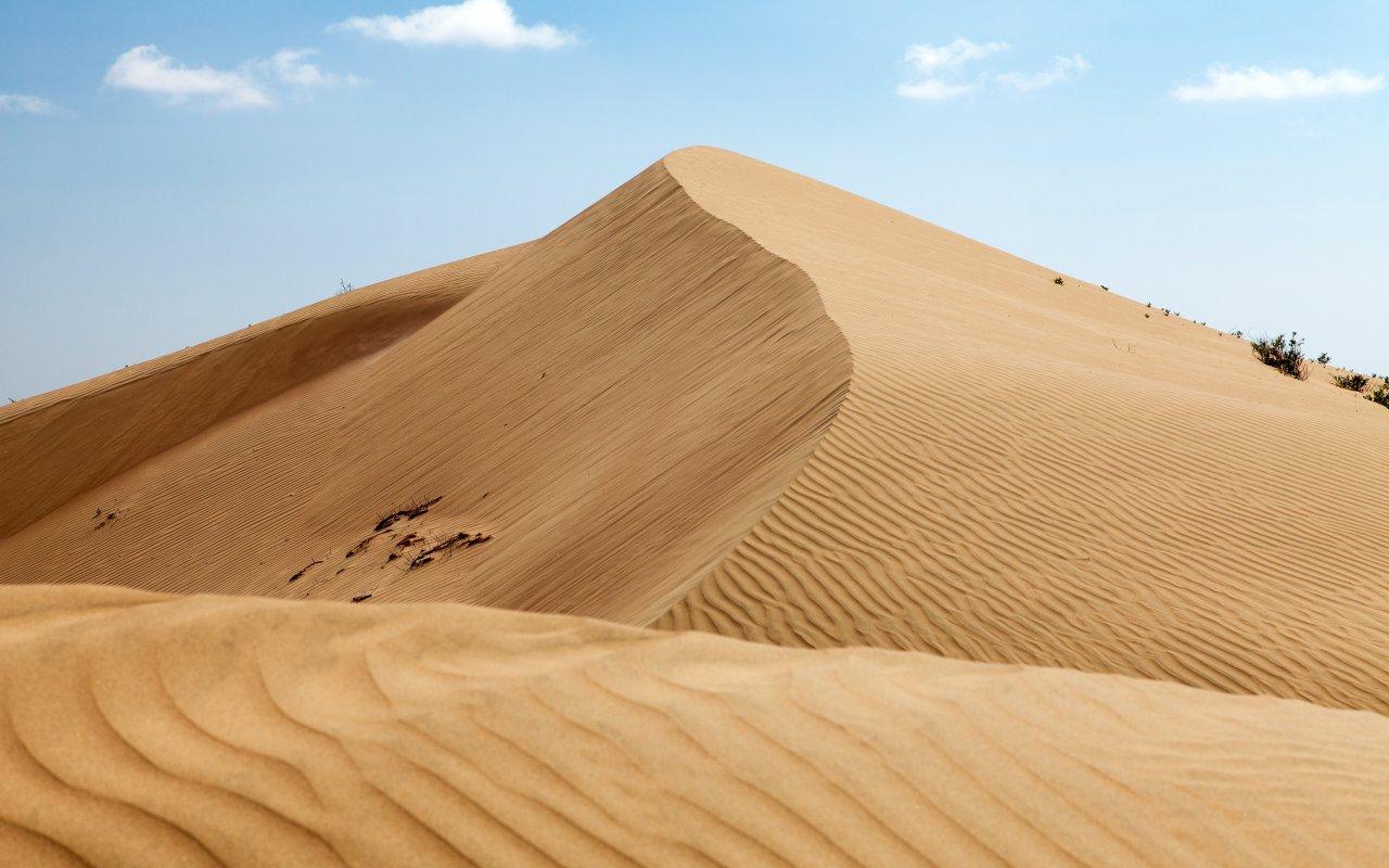 Dune de sable Cerro Blanco au Pérou