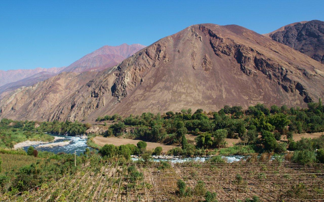 Payses de Lunahuaná au Pérou