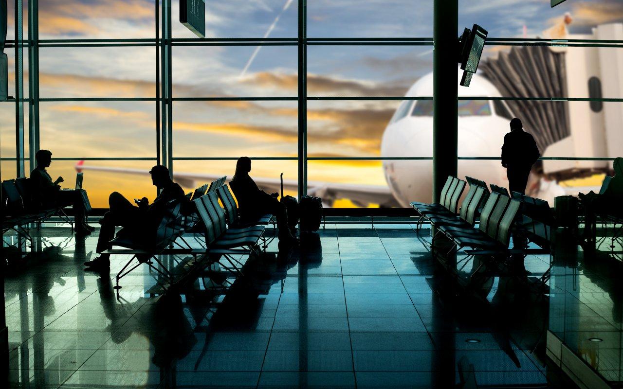Hall d'un aeroport