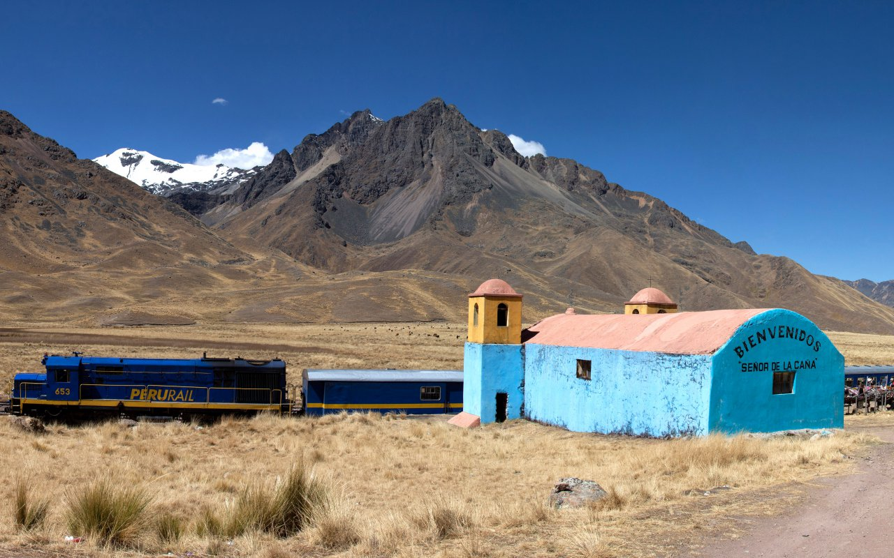 Train Andean Riders qui roule