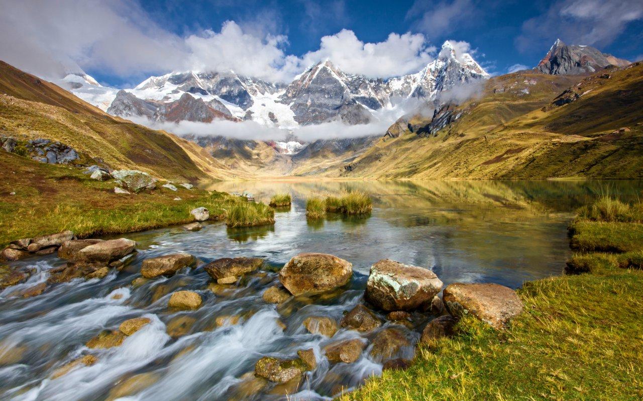 Paysages des Andes au Pérou