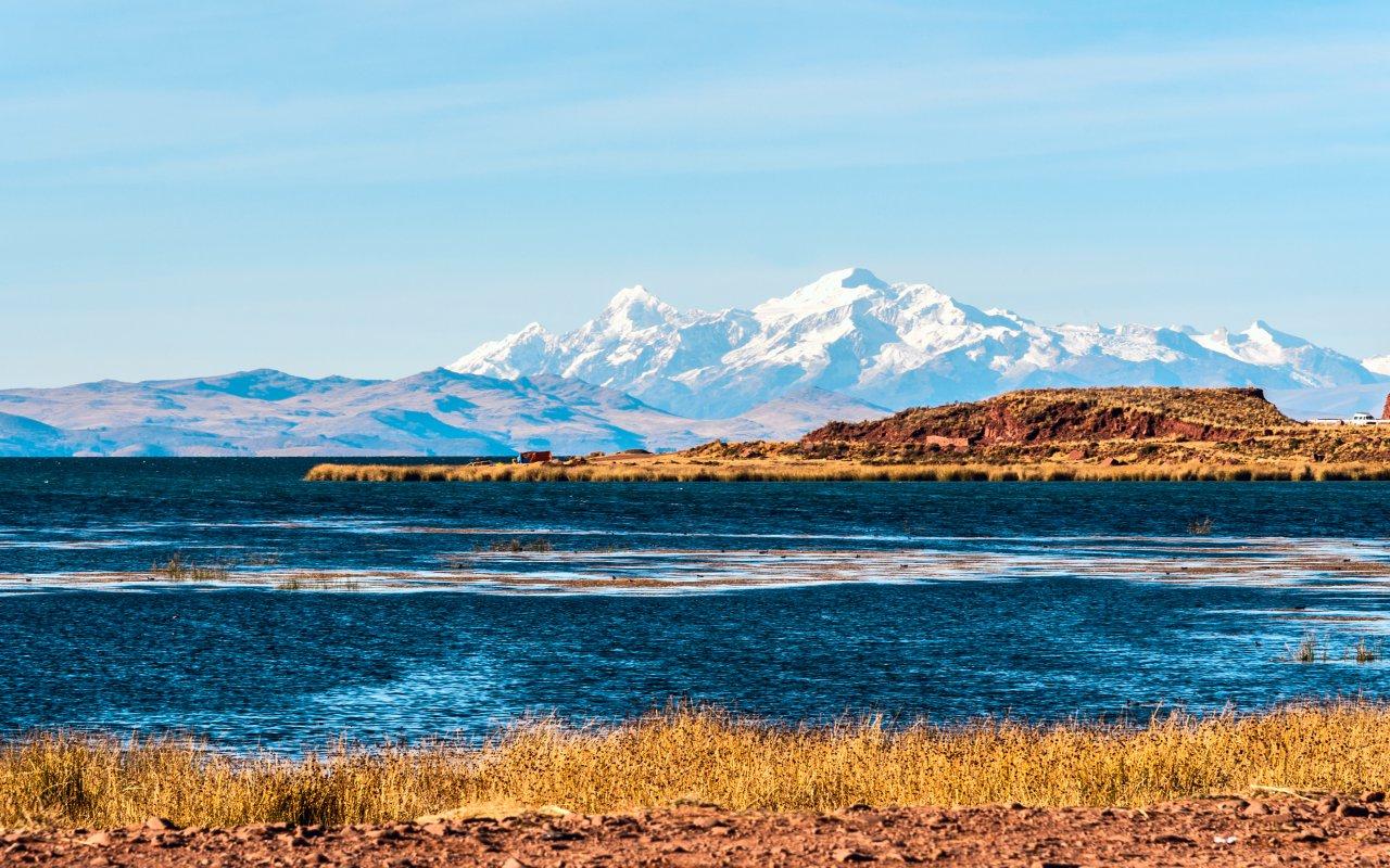 Vue du Lac Titicaca