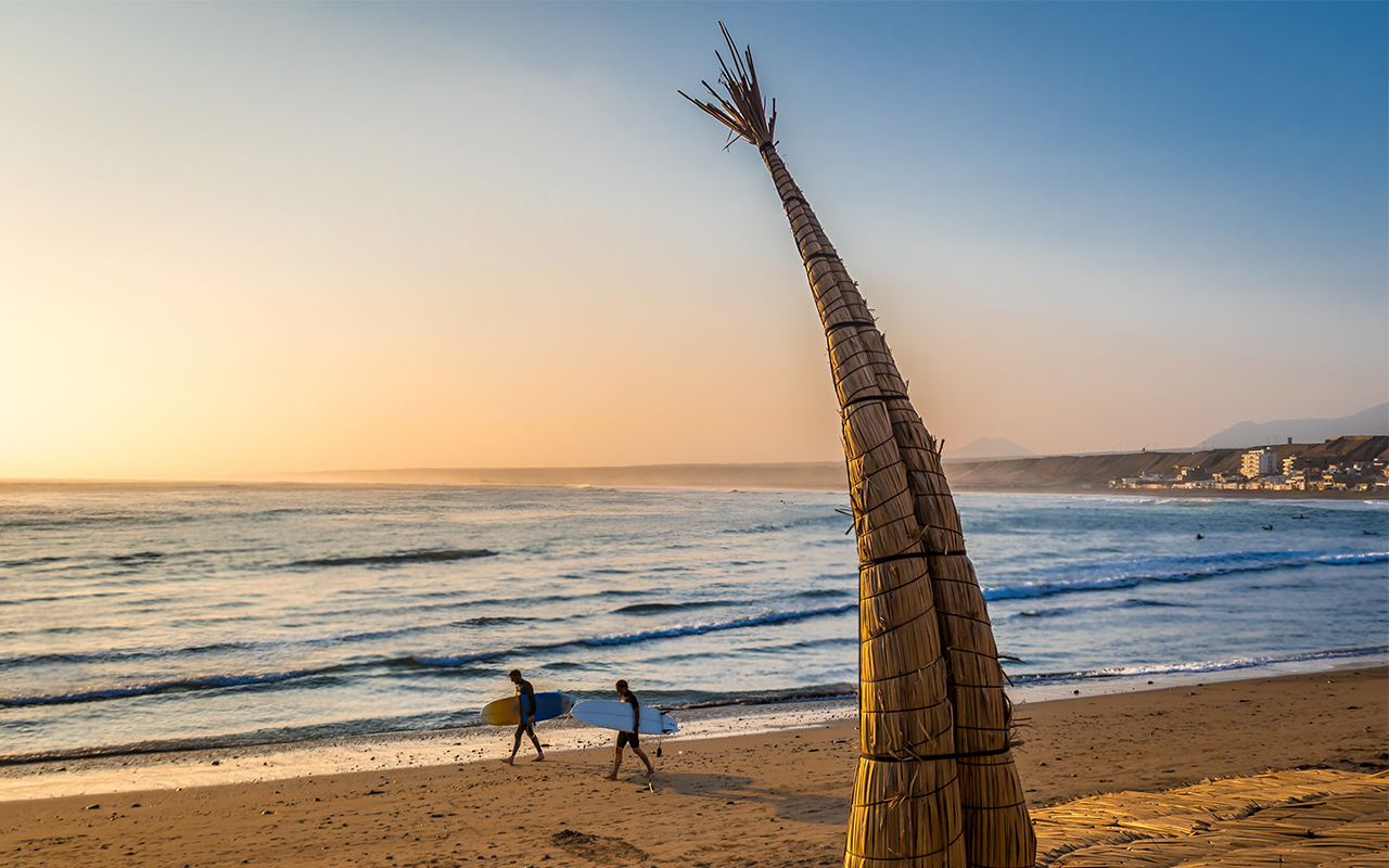 Sport et aventure de la côte Pacifique aux Andes