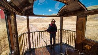 Trains de luxe dans les Andes