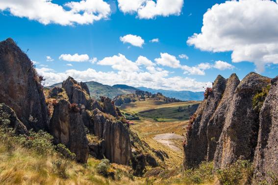 Nord Perou Cajarmaca Cumbemayo