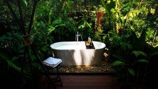 Deluxe Suite - baignoire en plein air