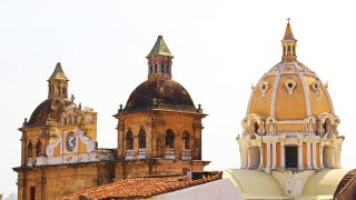 Toit d'église à Carthagène