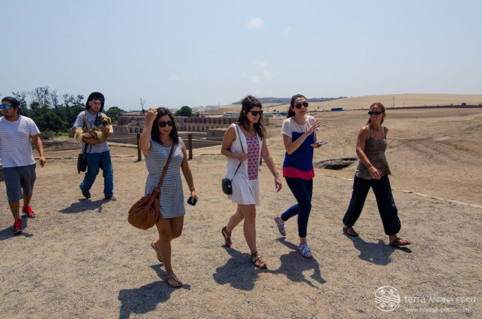 L'equipe de Terra Peru a Pachamanca