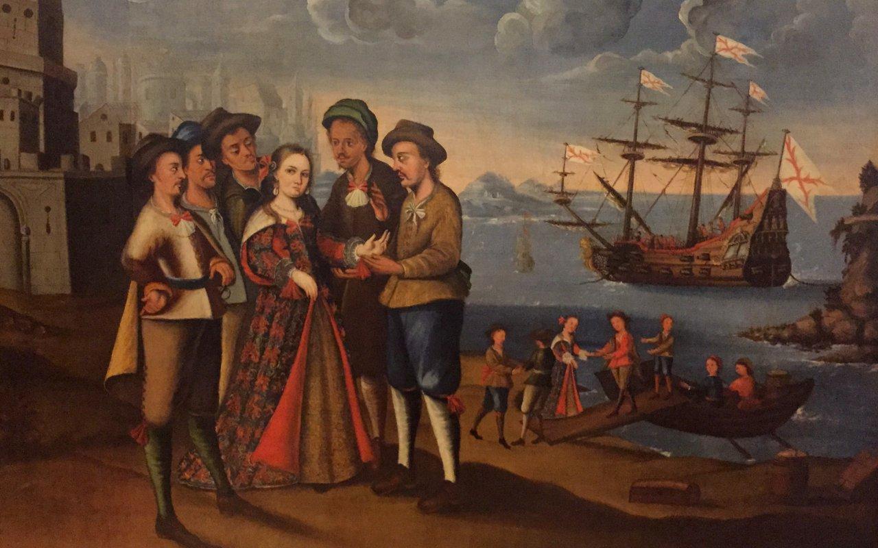 Diego Quispe Tito peinture
