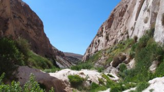 Randonnée dans le canyon de Yura