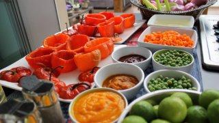 Buffet légumes