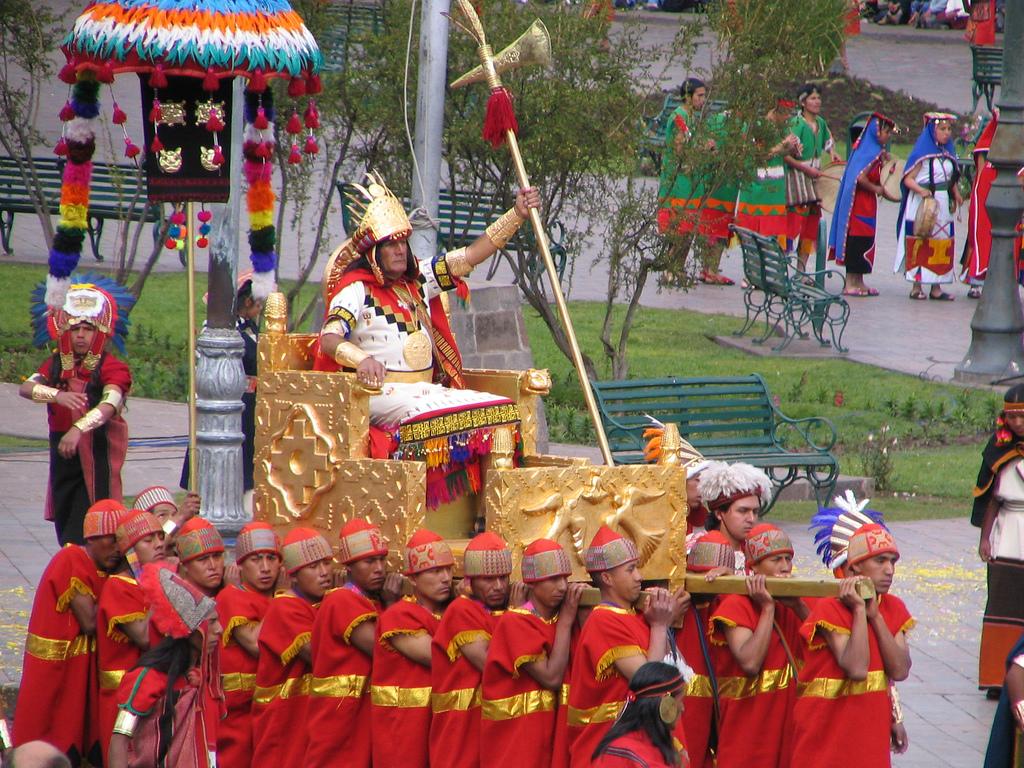 Fete de Inti Raymi à Cusco au Pérou
