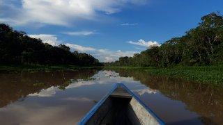 Barque à Iquitos