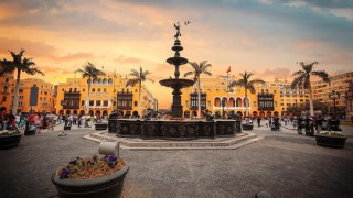 Centre historique de Lima au Pérou