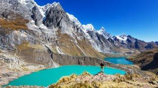 Laguna Llanganuco Parc Huascaran