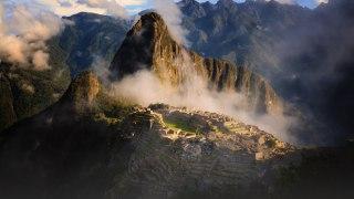 Machu Pichu dans la brume