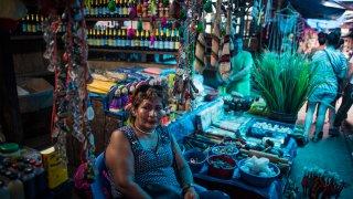Mercado Belen Iquitos Amazonie