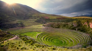 Laboratoire inca de Moray