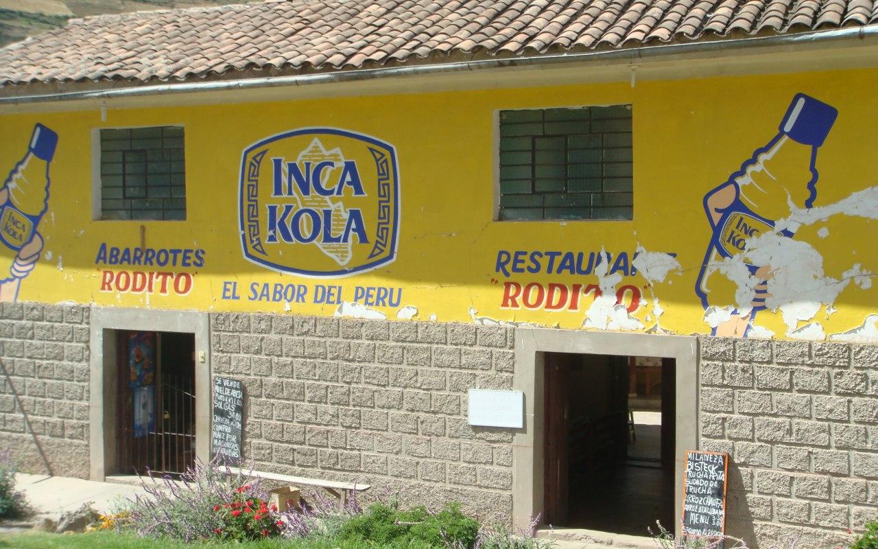 Inca Kola boisson national du Pérou