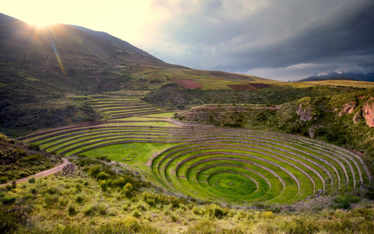 Moray en Vallée Sacrée a Ollantaytambo