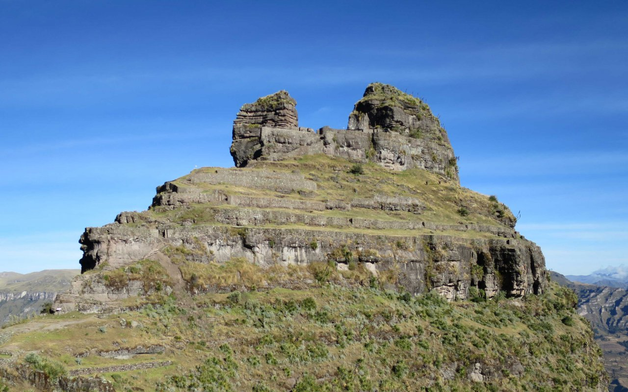 Forteresse de Waqra Pukara au Pérou