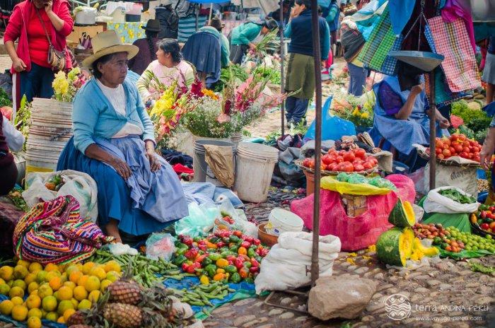 Marché péruvien