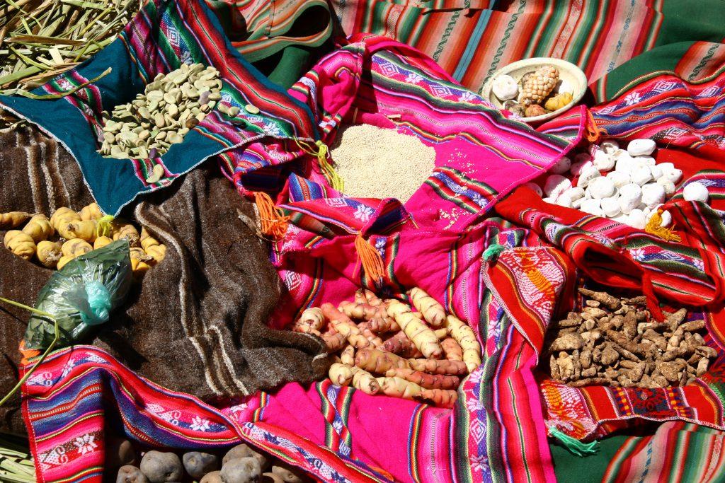 Cuisine typique des Andes au Pérou