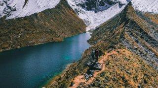 Lagune altitude trek du salkantay