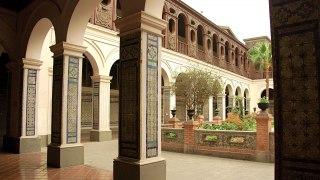 Arcades Couvent San Domingo Lima