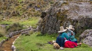 Cajamarca, les bains de l'Inca