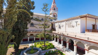 cloître monastère de la Recoleta