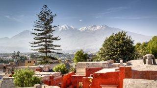 Vue du monastère Santa Catalina