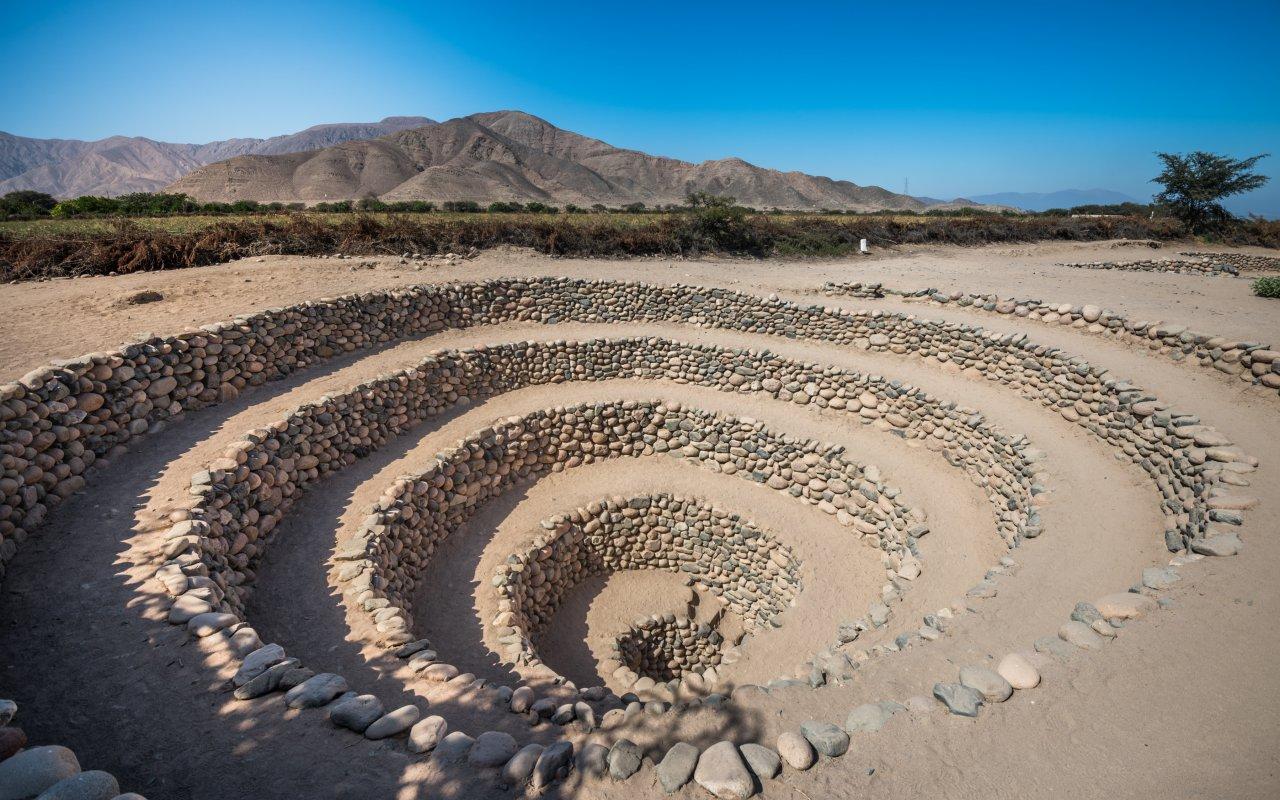 Aqueduc de Cantalloc a Nazca